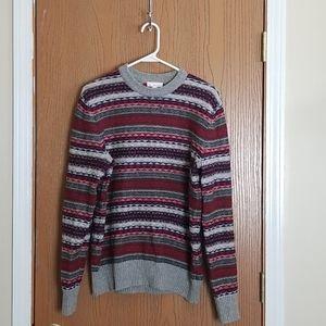 Gap Red Nordic Lambswool Crewneck Sweater Medium